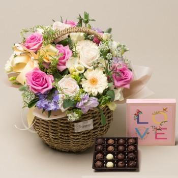 사랑의인사+초콜릿(고급형)