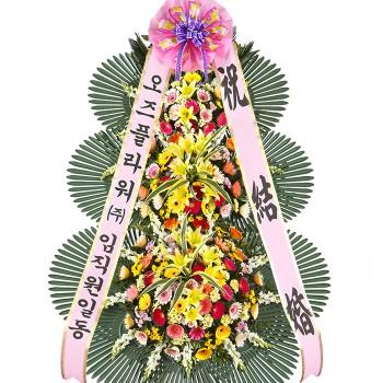 축하3단화환(고급2호)