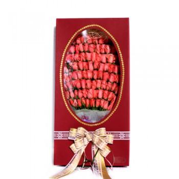 분홍장미100송이꽃박스