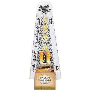 근조쌀화환(20kg)