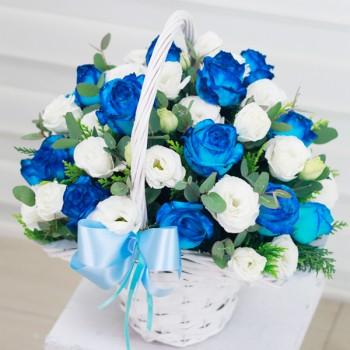 [예약/수도권배송] 파란장미_DeepBlue